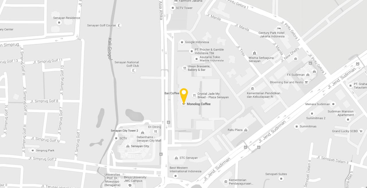 Plaza Senayan CP 101 B